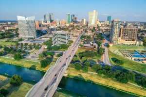 Trademark Property Co. has decided to expand its development offerings to include apartments as part of its larger vision. The firm has projects in the works in its hometown market of Fort Worth, Texas, which is shown above. (Fort Worth Chamber of Commerce)