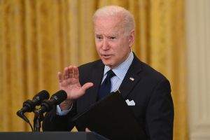 The Biden administration worked on a deal with Los Angeles Port officials to operate around the clock to ease congestion. (Getty Images)