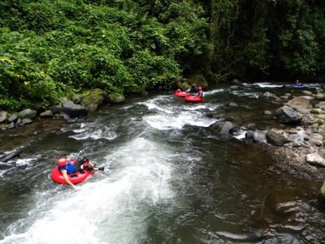 Penas Blancas River Tubing the River