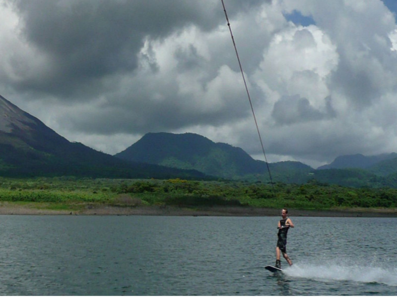 Wakeboarding in Arenal Have some Fun