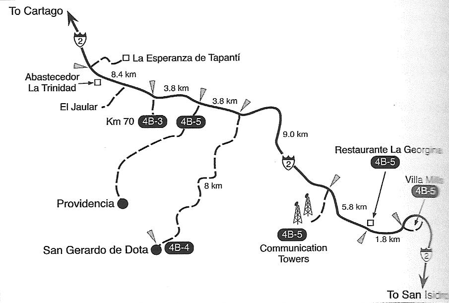 Site 5—San Gerardo de Dota, Savegre Hotel de Montaña, and