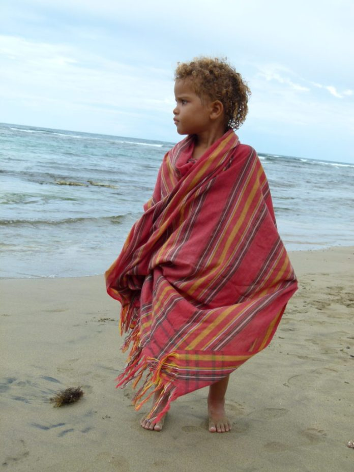 Susy in Costa Rica. Photo by author.