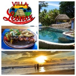 Ballena Beach Club collage