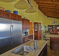 Chef's kitchen in h--end home for sale in san ramon costa rica