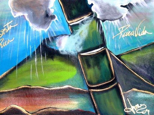 Manuel Antonio (Costa Rica) – Funky Rainforest-Inspired Art