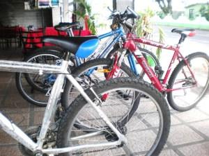 Bikes for rent in La Fortuna