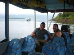 Ricky & Nikki - Van-Boat-Van from La Fortuna to Monteverde