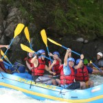 Ricky - Pacuare River Rafting (Nikki in the back) - Pura vida!