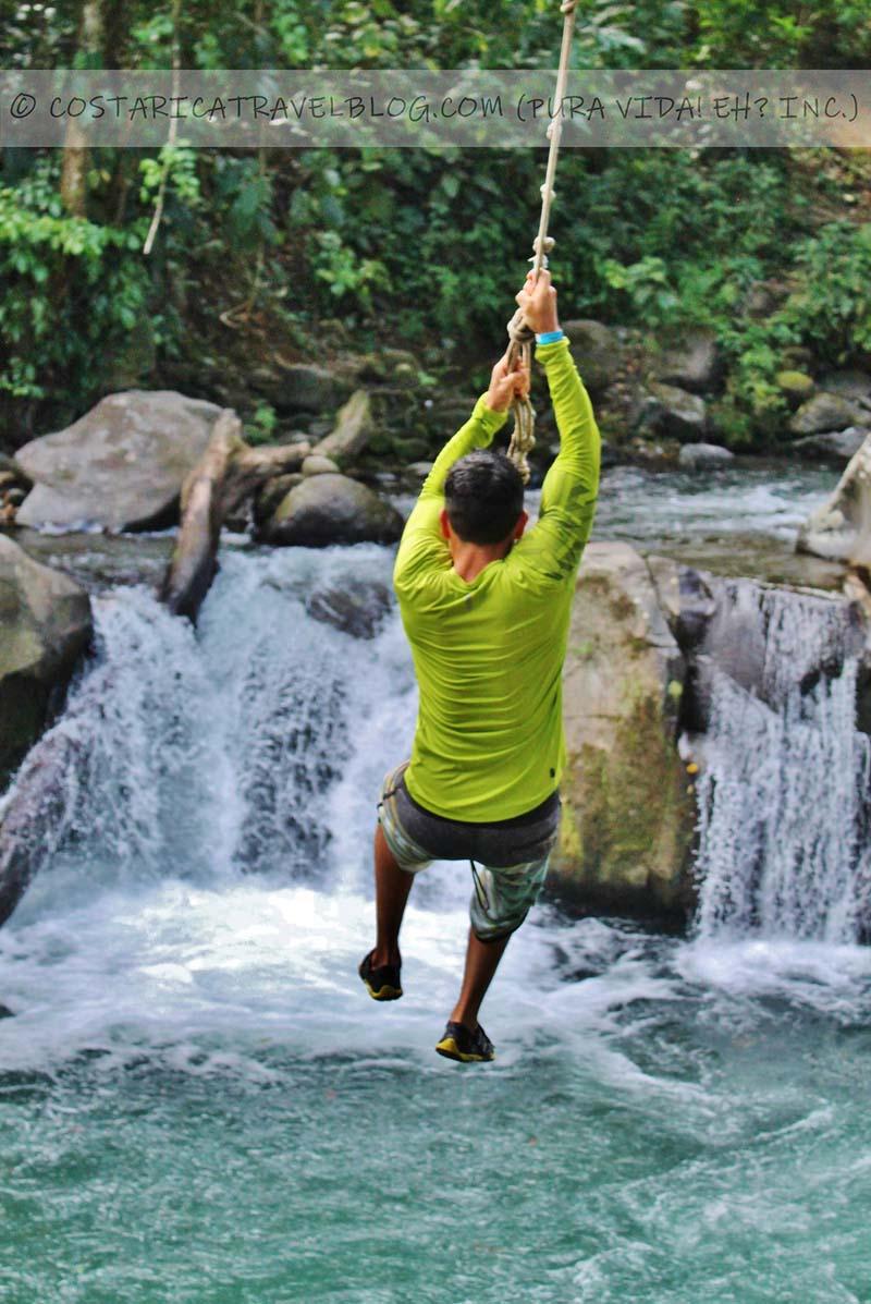 2019) El Salto Costa Rica: Local Free Tarzan Swing And Swimming