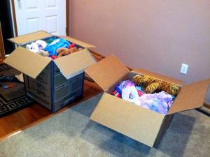 Supplies to donate