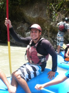 Ricky (aka. Ricky Bobby) - Guiding on Pacuare