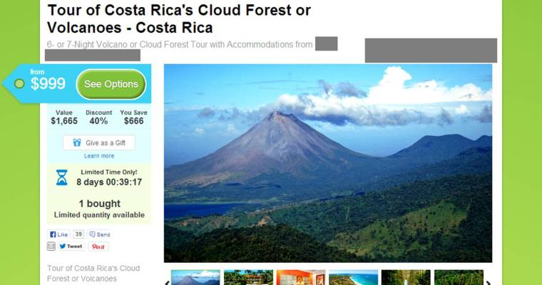 "Groupon Costa Rica: Don't Be Fooled By ""Deals"" Like These"