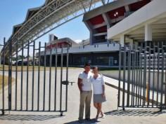 Nikki & Ricky - at Costa Rica's National Stadium