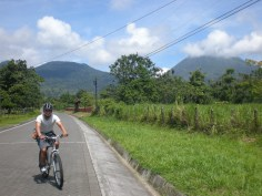 Ricky - Biking the Arenal Volcano