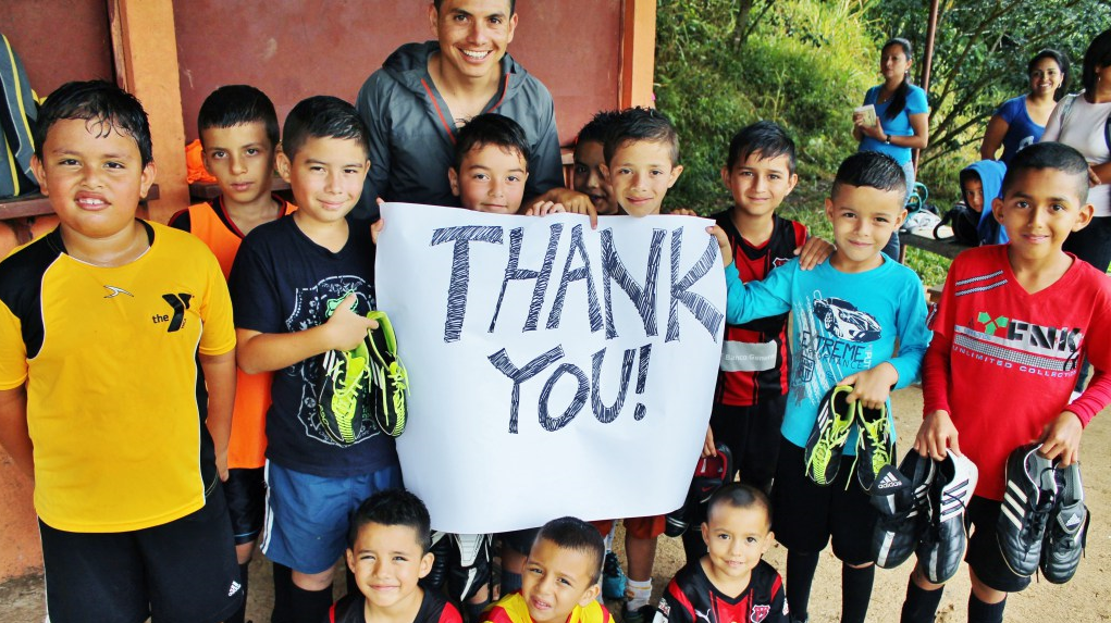 Our Costa Rica Soccer Shoes Donation Program
