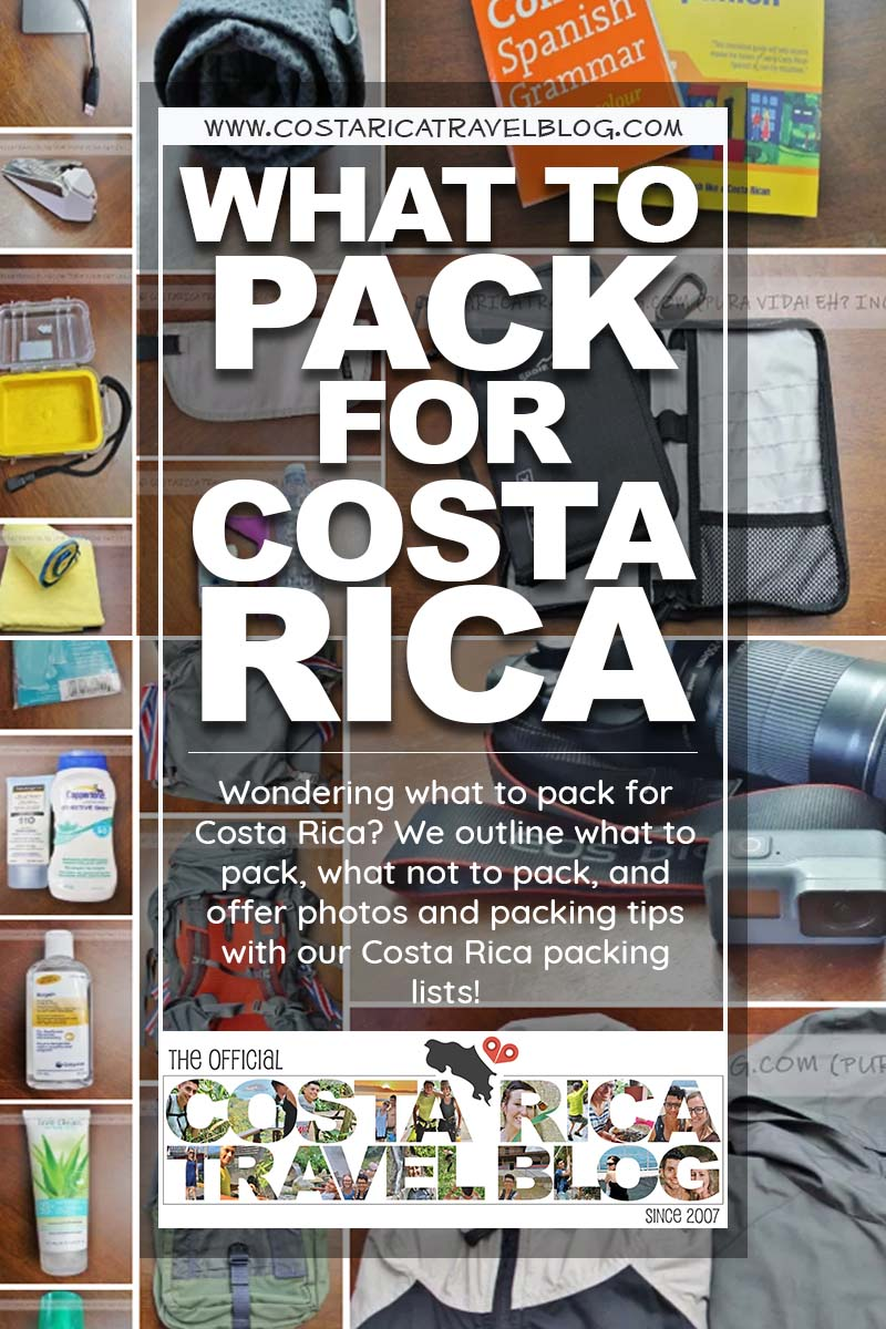 2019) What To Pack For Costa Rica (And What Not To Pack