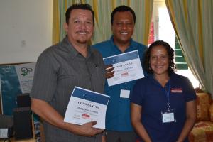 Participantes del segundo encuentro de comunidades costeras.