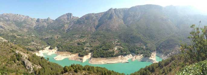 Guadalest valley