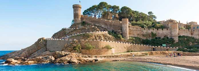 Castillo Medieval de Tossa de Ma