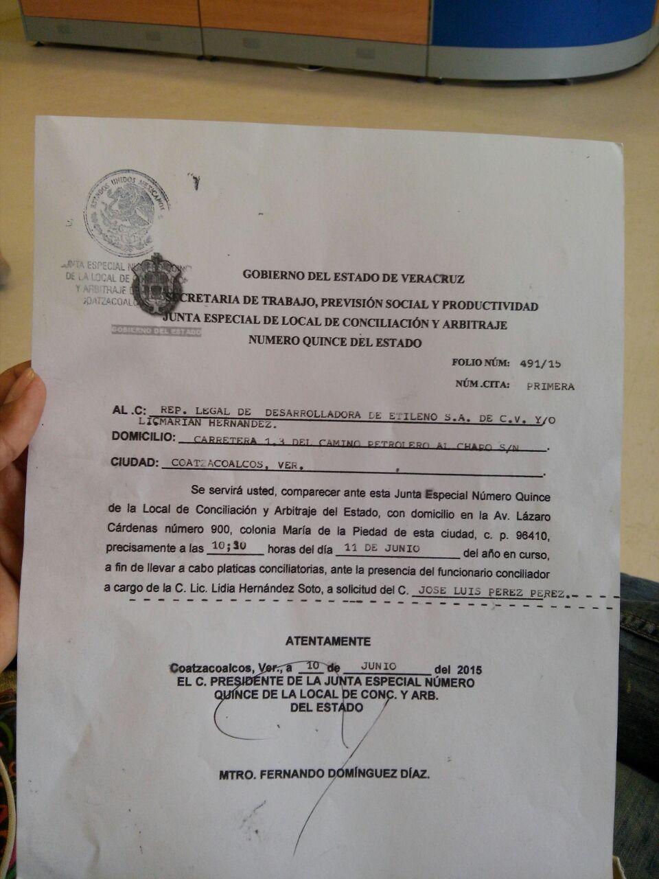 Inician despidos masivos en Etileno XXI  Costa Veracruz