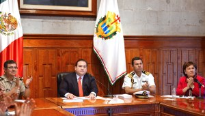 Javier Duarte instala Consejo Estatal de Protección Civil.