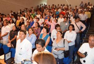 Los ciclos de conferencias se realizan en el auditorio del Centro de Convenciones de Coatzacoalcos.