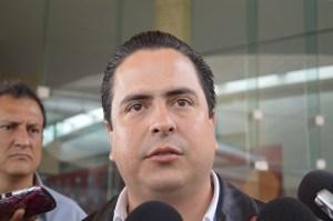 Joaquín Caballero, alcalde de Coatzacoalcos.