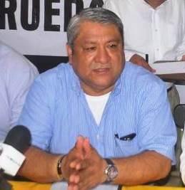 Marcos Romero Sánchez, alcalde de Papantla y quien dirige la coordinadora estatal del PRD.