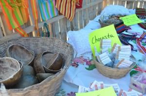 Artesanías, chogosta, telares, comida típica, todo un agasajo el festival de la Chogosta en Jáltipan.