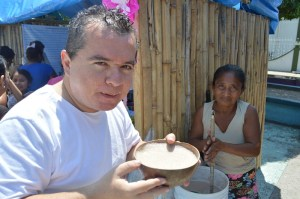 El Popo, esta antiquísima bebida deriva de la lengua nahua Popocti, que significa cosa que humea o que hace espuma
