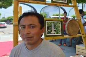"""José Luis Jerónimo Pérez, ingeniero bioquímico: """"la chogosta es rica en nutrientes""""."""