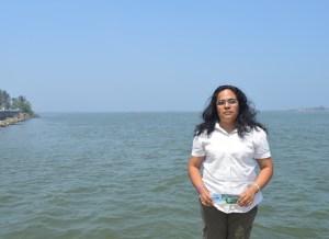 Bióloga Naylú Alejandra Morales García, rompe viejos paradigmas científicos que declaraban al manatí extinto en la cuenca del Coatzacoalcos.