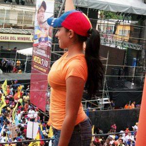 Encabezando movimientos a favor de Enrique Capriles y de Leopoldo López, de la oposición.