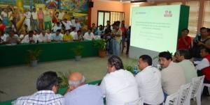 la primera sesión ordinaria del consejo municipal de protección civil en la sala de cabildo municipal.