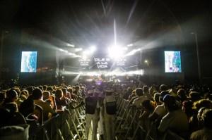 La seguridad que brindan las fuerzas de tarea en el Festival Internacional de la Salsa han influido para que el evento sea un éxito, dentro un clima de alegría y fiesta.