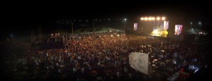 Noches de lleno total en el salsódromo en Coatzacoalcos.