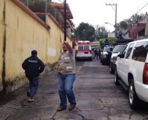 Cae un árbol en la secundaria Técnica 3 en Xalapa; muere una de las alumnas. Genera consternación entre la población xalapeña.