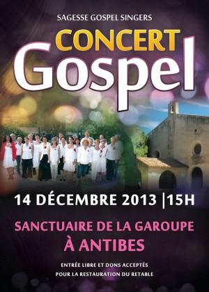 Carte concierto de Gospel