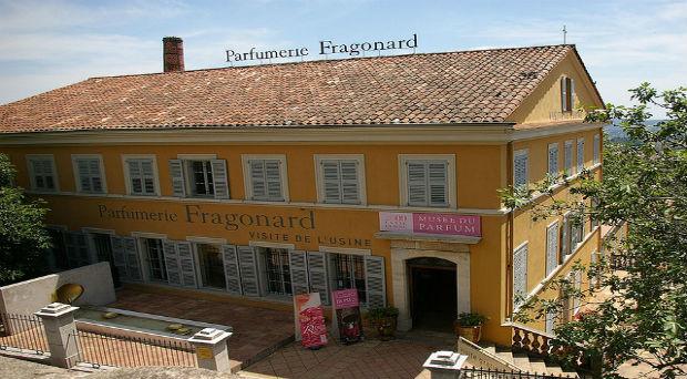 perfumerías de Grasse Fragonard
