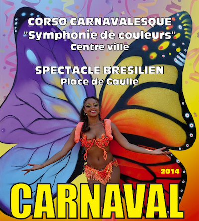 Carnaval brasileño en Cagnes-sur-Mer