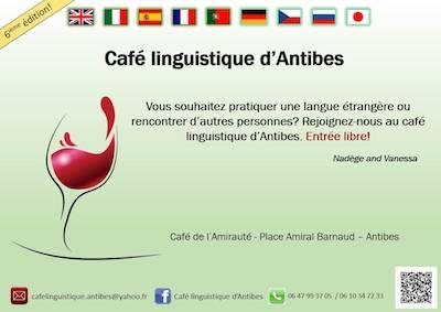 Cafe linguistico Antibes