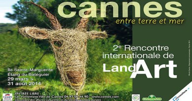 Land Art Cannes 2014