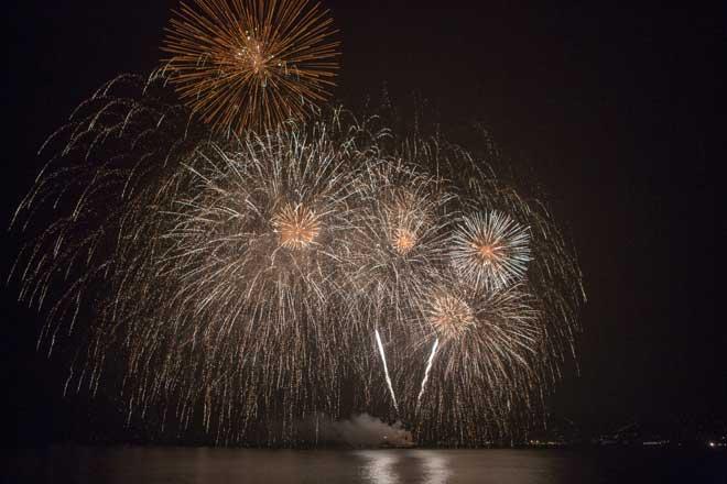 Fuegos de Artificio Antibes