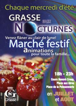 Mercados nocturnos Grasse 2016