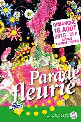 Desfile flores Cannes la Bocca