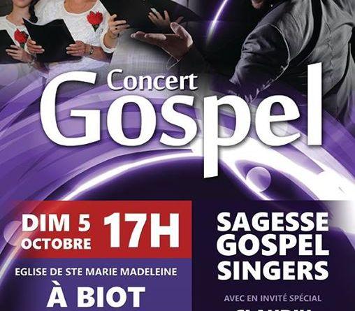 Concierto Gospel Biot