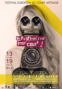 Cartel Festival Cortometrajes Niza