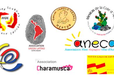 Las Asociaciones hispanas de la Costa Azul