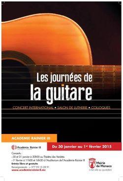 Jornadas de la guitarra Monaco