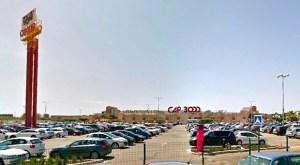 Aparcamientos Cap 3000 -Google Street View